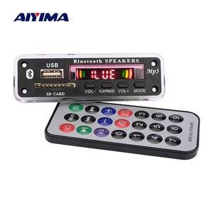 Image 1 - Aiyima Bluetooth MP3 Scheda di Decodifica Wma Wav Flac Ape Decodifica Aux Usb Sd Radio Fm Del Giocatore di Musica per Laltoparlante Bluetooth amplificatore