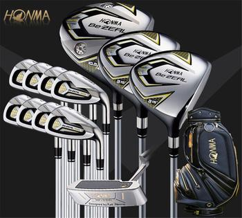 Golf Clubs HONMA BEZEAL 525 Complete Set HONMA Golf driver.wood.irons.putter Graphite Golf shaft Free shipping golf clubs honma bp 2001 golf putter 33 34 35 inches steel golf shaft and golf headcover free shipping