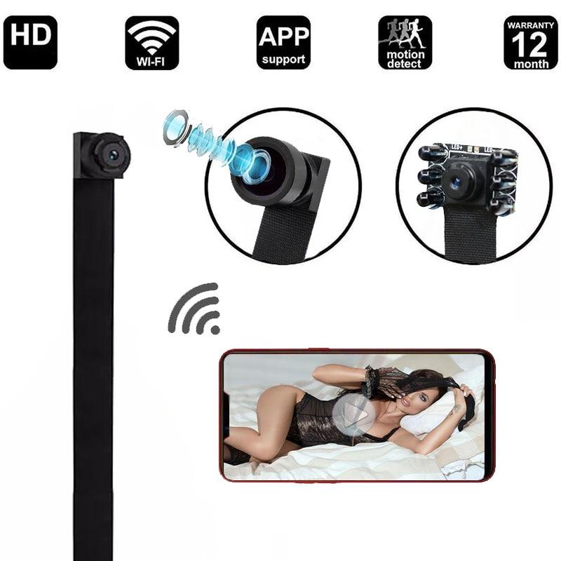 Jozuze hd 4k diy портативная wi fi ip мини камера ночного видения