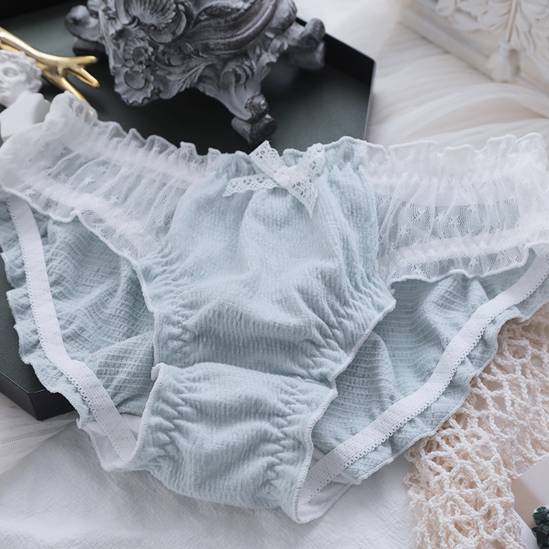 6 Stück Mädchen Unterwäsche Baumwolle Seite Slip weiblichen Baby Shorts Kopf