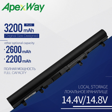 Apexway 14.8V laptop battery for ACER Aspire V5 E1 V5-171 V5-431 V5-471 V5-531 V5-571 V5-571G AL12A32 free shipping for acer aspire v5 571 v5 571p v5 571pgb v5 531pg ms2361 assembly touch screen and display not with frame