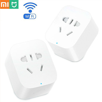 Hot Xiaomi Mijia Smart Home Power Socket Plug Basic Wireless WiFi APP Remote Control Timer Switch Powercube EU UK Adapter