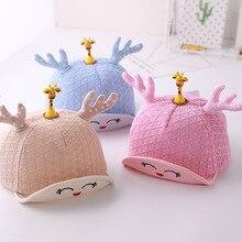 Cap 6M-12M Spring, summer  girls winter hat newborn props baby boy gorros para bebe girl clothes cap Y339