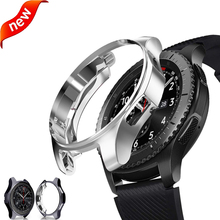 Watch case For samsung Galaxy Watch 46mm 42mm /Gear S3 frontier All-Around protective bumper cover frame smart watch accessories protective cover for samsung gear s3 frontier case tpu plated all around protective bumper shell smartwatch r760 cover frame