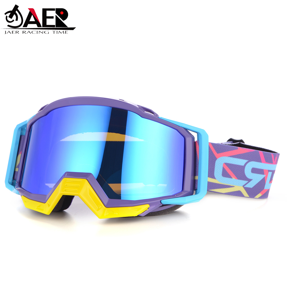 JAER 100percent Brand Motocross Goggles For Moto Helmet ATV DH MTB Dirt Bike Glasses Racing Cycling Oculos Gafas Motorcycle Glasses