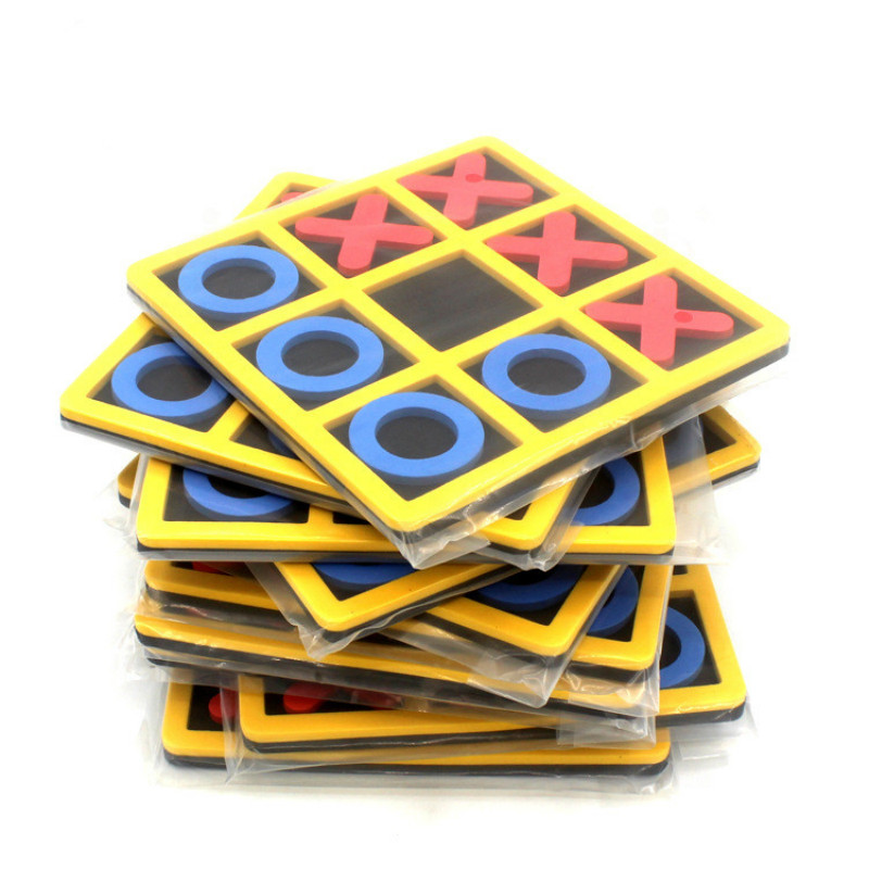 1 Pcs Parent-Child Interaction Leisure Board Game OX Chess Funny Developing Intelligent Educational Toys
