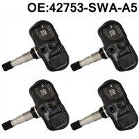 4 pcs New Tire Pressure Sensor Wheel TPMS 315MHz For Honda Accord CRV FiT 2007 2012