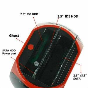 Image 5 - 하나의 ide sata 2.5 인치 3.5 인치 듀얼 하드 드라이브 hdd 도킹 스테이션 도크 usb 허브 카드 리더기 사무실 홈 컴퓨터