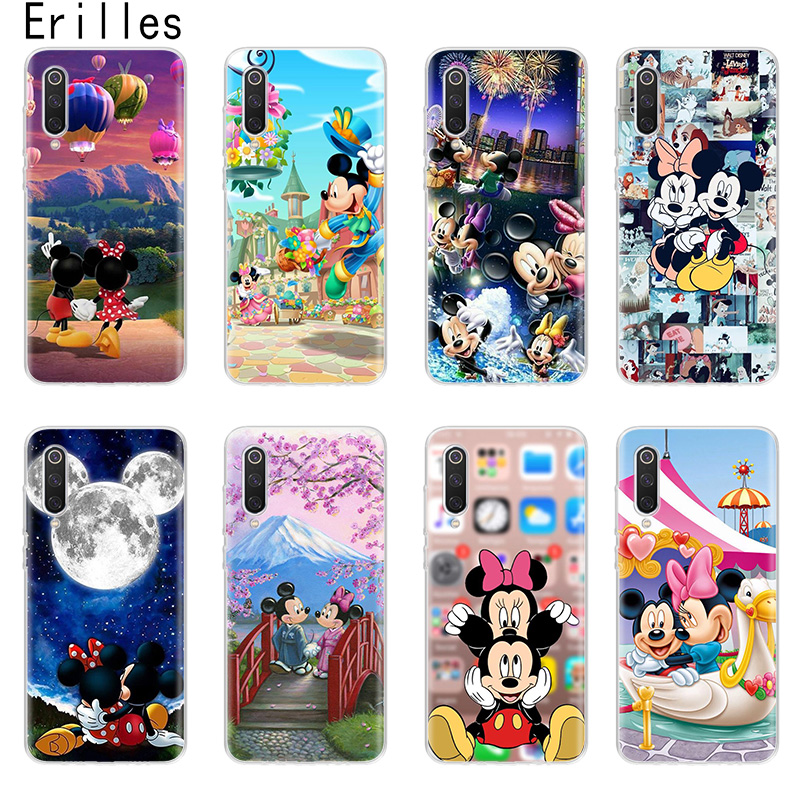 Cartoon Mickeys Mouse Phone Case For Redmi Note 4 5 6 7 8 Pro Cover Soft Coque For Redmi S2 K20 K30 4 4A 4X 5 5A 6 Pro 6A 7 7A 8