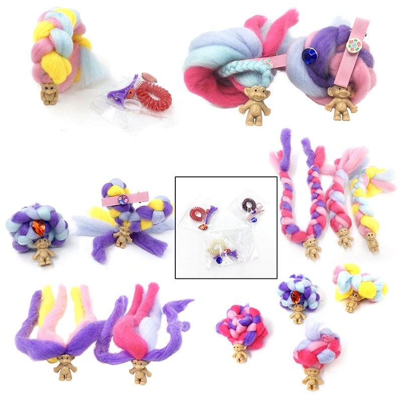 23cm Marshmallow DIY Handmade Braided Hair Dolls  Accessories Candy Dolls Candylocks Sweet Treat Toys
