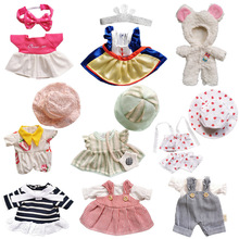 BJD Doll Outfit Accessories New Born Summer Lovely Girls Suit Cloth 25cm Toy Gifts 1/6