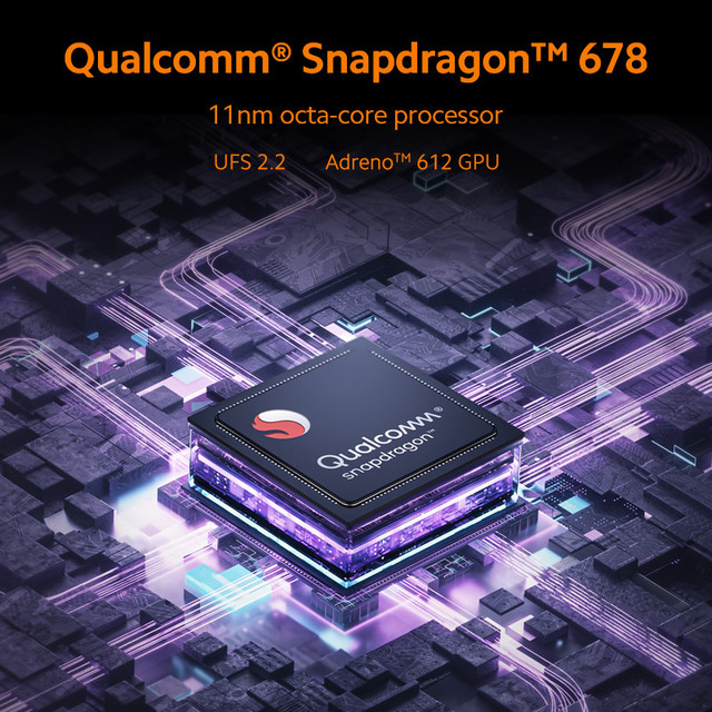 Global Version Xiaomi Redmi Note 10 Mobile 4GB RAM 64 / 128GB ROM Snapdragon 678 Octa Core 5000mAh Battery 33W Fast Charge 4