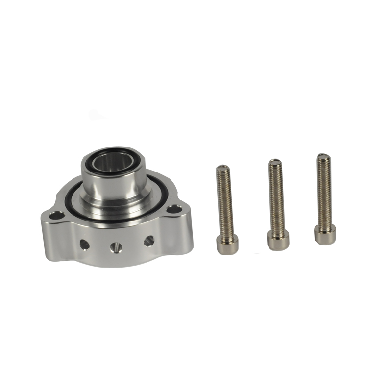 Aluminum Part Turbo Blow Off Valve Bov Sound Adaptor For Mercedes A180, A250, CLA 250 & GLA 250 Black And Silver FMSPMER