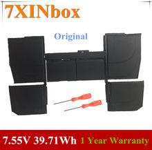 Аккумулятор для ноутбука 7XINbox, 7,55 в, 5263 Вт-ч, 2015 мАч, A1527, Apple Macbook Pro Retina 12 дюймов, A1534, 2016, 2017, MF855, MJY32, MK4M2
