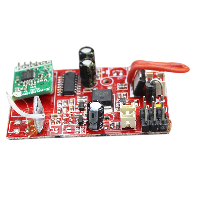 V913-16 Receiver / Main Board / PCB Box Circuit Board Spare Parts for Wltoys V913 2.4G 4CH with Gyro RC Helicopter