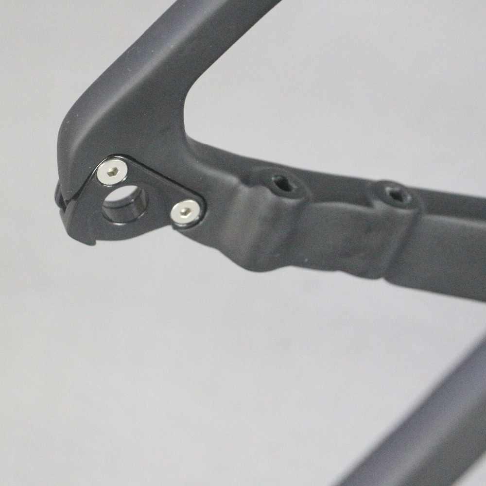 % 2019 tam karbon Fiber çakıl bisiklet iskeleti GR030, bisiklet çakıl çerçeve fabrika doğrudan satış özelleştirilmiş boya çerçeve erkekler çerçeve