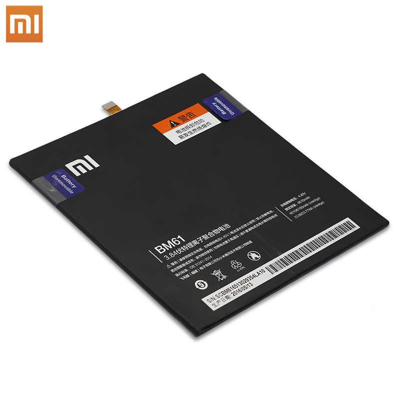 Xiao mi tablette batterie de remplacement BM61 batterie pour Xiao mi Pad 1 2 pour mi pad 1 2 7.9 pouces A0101