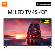 Originele Xiaomi Tv 4S 43 Inches 4K Smart Televisie 2G + 8G Opslag Ondersteuning Miracast DVB-T2 + C/DVB-S2 Intellgent Led Televisie(China)