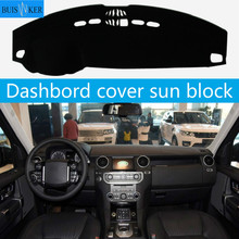 for land rover discovery 3 lr3 2005 2009 rear trunk cargo cover security shield screen shade high qualit car accessories Car Dashboard Cover For Land Rover Range Rover Sport Discovery 3 Discovery 4 2010 - 2016 Dash Mat Dash Pad Sun Shade