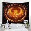 – 90 bis 300cm – *2 Phönix-Motive* Wandteppich / Tischdecke / Tuch, Feuervogel aus Licht Geschenk-Ideen | Tapisserie und Tischdecken 7