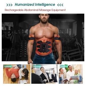 Image 2 - YOUKE 9 קובץ LED תצוגה חכם חשמלי ממריץ שרירים בטן EMS בריאות בטן ממריץ שרירים לעיסוי יוניסקס