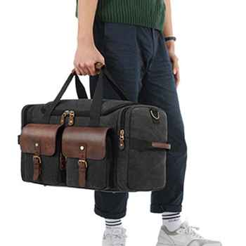 High Quality New Travel Luggage Storage Handbag Shoulder Duffle Bag Large Capacity Organizer