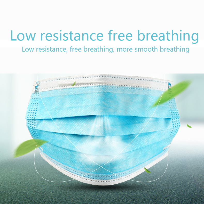 Image 2 - 10 Pieces/Pack Disposable Professional Medical Anti Dust Healthy Carbon Face Mask 3 Layers Mouth Masks