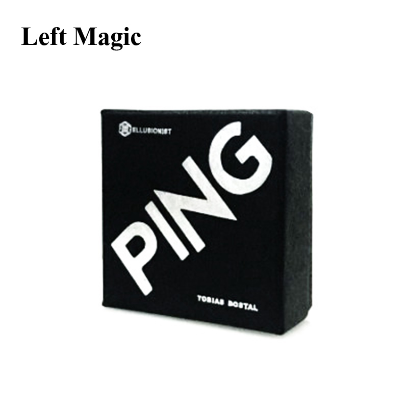 Ping By Tobias Dostal (Gimmick+online Instruct) - Coin Magic Tricks Mentalism Stage Close-Up Street Accessories Illusion Gimmick