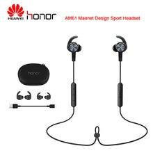 Huawei honor am61 bluetooth sem fio fones de ouvido ímã design esporte ao ar livre para huawei samsung xiaomi