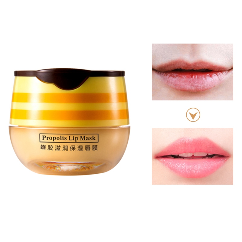 lip care Moisturizing moisturizing honey lip mask for nourishing image