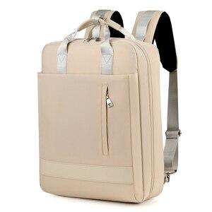 Image 3 - 2019 kadın USB şarj Laptop sırt çantası 15 15.6 inç dizüstü PC Tablet sırt çantası sırt çantası Macbook Dell HP HUAWEI