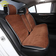 Car-Seat-Covers FASHION Plush-Fur Comfortable Warm And Universal-Size