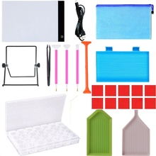 DIY Diamond Painting Accessories 5D Cross Stitch Tools Kits With Embroidery Box M