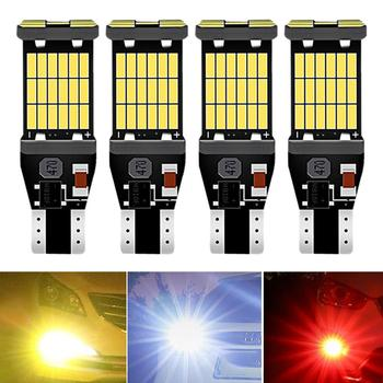 4x T15 W16W 912 LED No Error Back Up Reverse Light Bulb for Toyota RAV4 2018 CH-R CHR 2019 Corolla Camry Yaris Tail Signal Lamp image