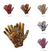 3d Перчатки С Рисунком Тигра утолщенные женские мужские теплые