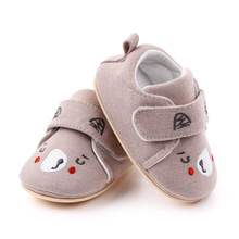 Toddler Shoes for Baby Girl Cartoon Embroidered Soft Sole Baby Sneakers Newborn Infant Shoe First Walkers Baby Shoes