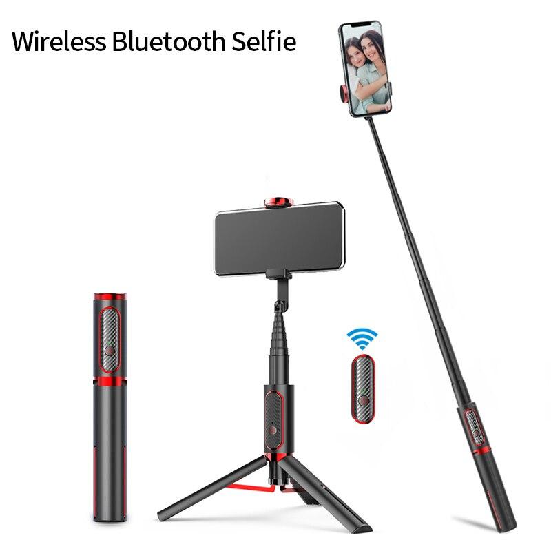 bâton de selfie Selfie Vertical sans fil de prise de vue de bâton de Selfie de Bluetooth Mini portatif 15KG de charge de jeu de Smartphone pour l'iphone IOS d'android
