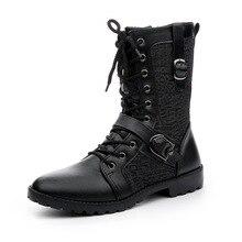 Зимние ботинки, мужские кожаные ботинки, мужская обувь с высоким берцем, зимняя обувь с круглым носком, туфли на шнурках на каждый день, мужс...