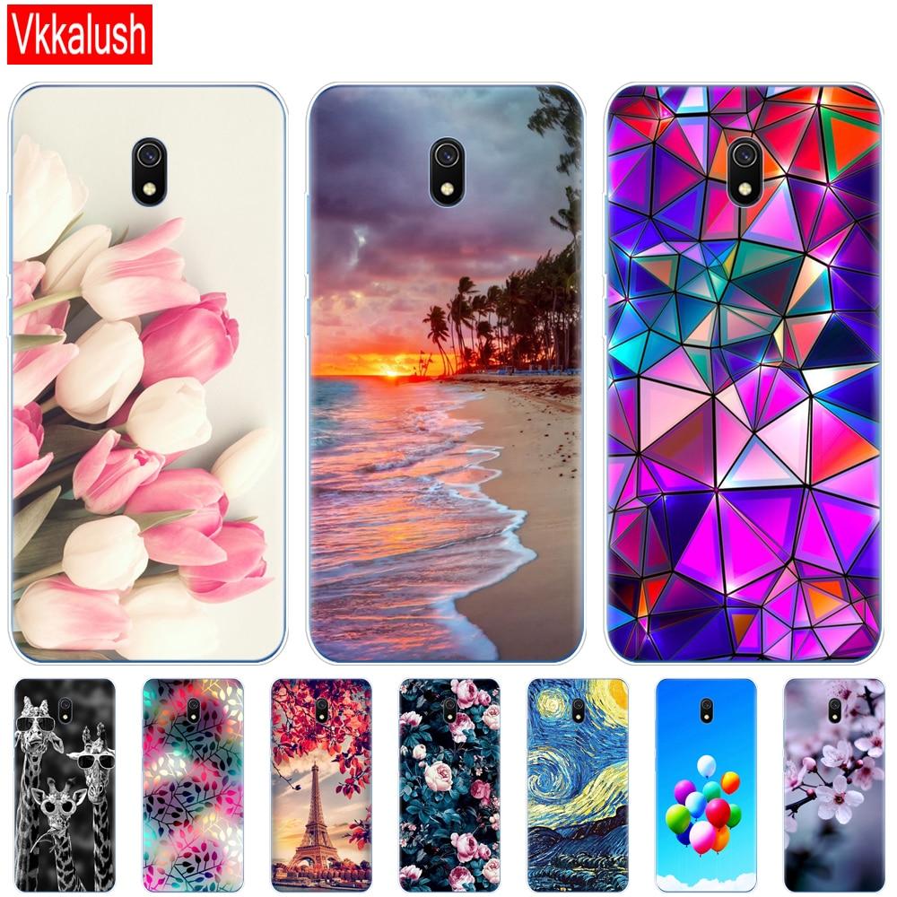 Silicon Case For Xiaomi Redmi 8a Cases Full Protection Soft Tpu Back Cover On Redmi 8a Bumper Hongmi 8a Phone Shell Bag Coque