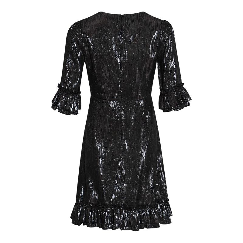 sukienka patchworkowa lamówką dla 10