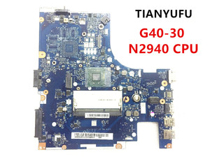 Brand New ACLU9 / ACLU0 NM-A311 Motherboard for Lenovo G40-30 laptop MOTHERBOARD With cpu ( WITH N2940 CPU ) tested 100% work(China)