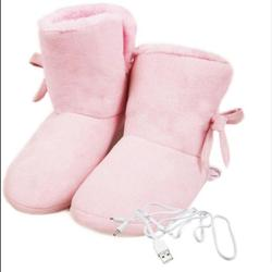 Zimowe buty ocieplające stopy miękkie ogrzewanie elektryczne buty USB akumulator śnieg buty zmywalny elektryczny buty jazdy na nartach nie myli w Elektryczne poduszki grzewcze od Dom i ogród na