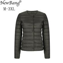 NewBang Ultra Light Down Jacket Women Matt Fabric Light