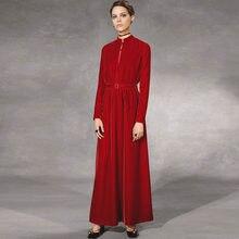 Gedivoen весеннее однотонное красное элегантное платье для вечеринок