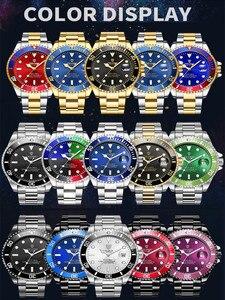 Image 2 - TEVISE mężczyźni zegarki Top marka luksusowe Casual zegarek kwarcowy mężczyzna ze stali nierdzewnej wodoodporny mężczyzna zegar Relogio Masculino 2020
