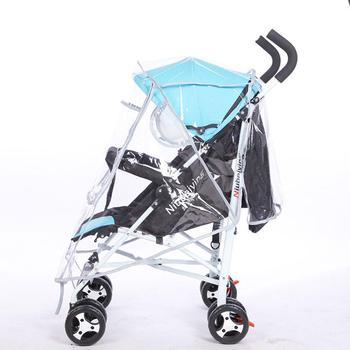 Baby Buggy Rain Cover EVA Baby Plus Windproof Waterproof Infant Pram Dust Shield Pushchair Covers Universal Stroller Accessories babyrule baby stroller accessories universal waterproof rain cover wind dust shield for strollers pushchairs stroller buggy