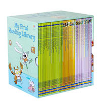 50 Pcs/Lot My First Reading Library English Usborne Books for Children Books for Kids English English Reading Books for Children