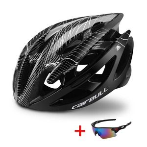Профессиональный дорожный шлем для горного велосипеда с очками ультралегкий DH MTB велосипедный шлем для всех видов спорта, езды на велосипеде