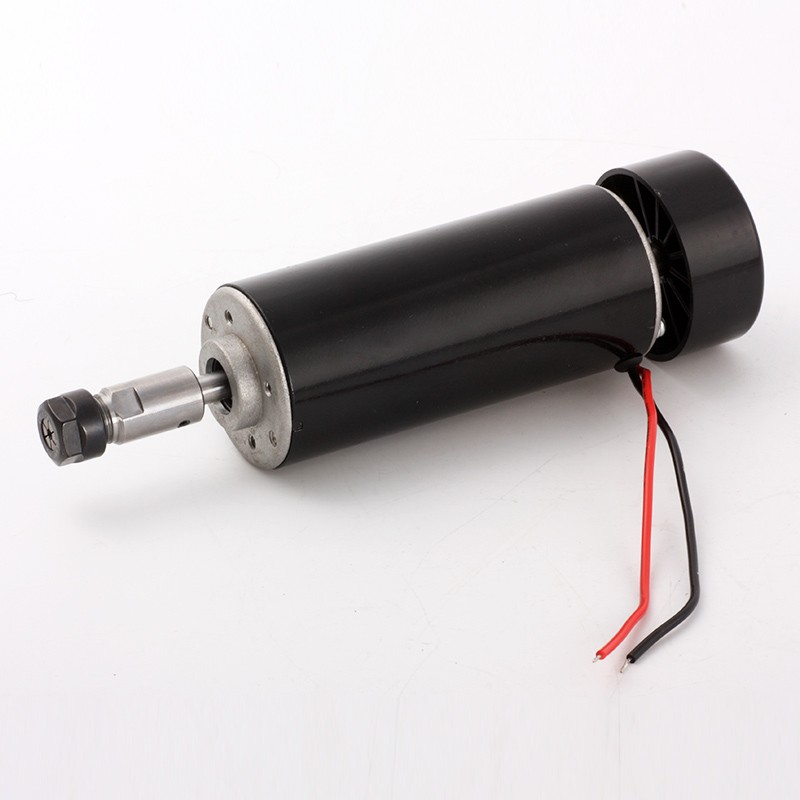 500W Cnc Spindle Air Cooled Spindle Motor 500W 100V Power Supply / 1Set Er11 Collet Spindle 500W For Engraving