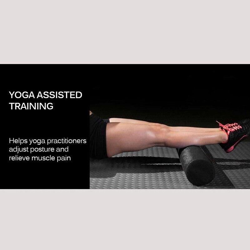 Yoga Block Column Roller Massager Fitness Yoga Foam Roll Pilates Block Massage Column For Therapy Relax Exercise Relieve Stress|Yoga Blocks|   - AliExpress
